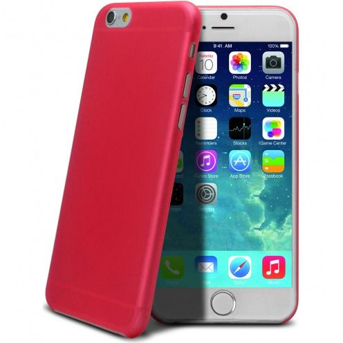 Coque Ultra Fine 0.3mm Frost iPhone 6 Fuchsia