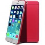 Vue complémentaire de Coque Ultra Fine 0.3mm Frost iPhone 6 Rouge