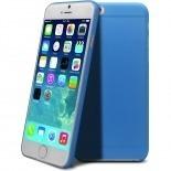 Vue complémentaire de Coque Ultra Fine 0.3mm Frost iPhone 6 Bleue