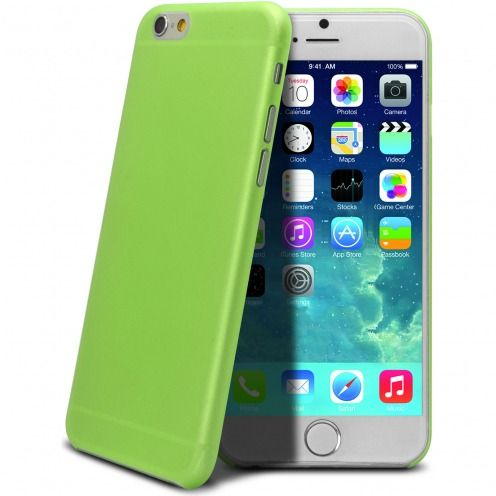 Visuel supplémentaire de Coque Ultra Fine 0.3mm Frost iPhone 6 Verte