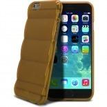 Visuel supplémentaire de Coque iPhone 6 Gel Air Bump Grip Champagne