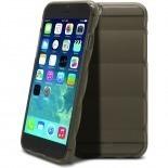 Vue complémentaire de Coque iPhone 6 Gel Air Bump Grip Fumé