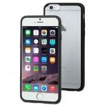 Visuel unique de Coque iPhone 6 Plus Muvit® MyFrame Bi-matière Noir - Transparent