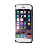Visuel supplémentaire de Coque iPhone 6 Plus Muvit® MyFrame Bi-matière Noir - Transparent