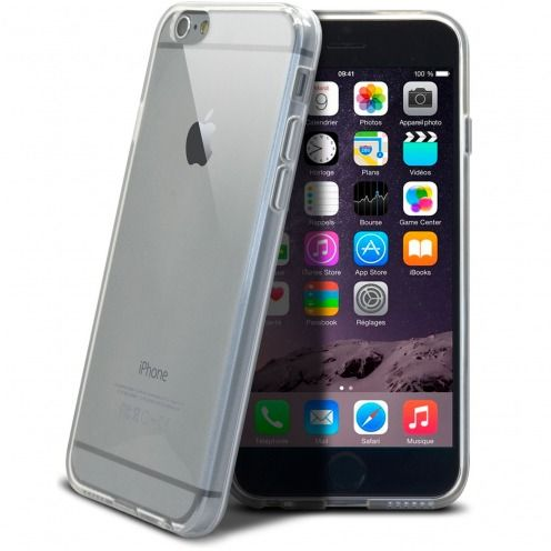 "Coque Souple ""Crystal Clear"" pour iPhone 6S/6"
