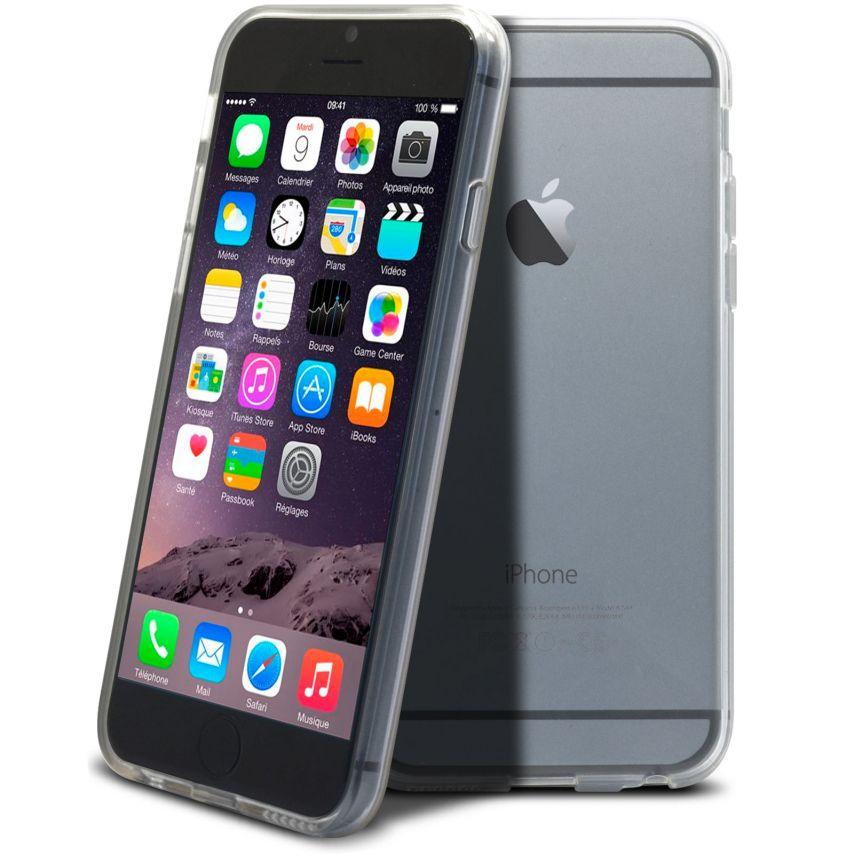 """Vue complémentaire de Coque Souple """"Crystal Clear"""" pour iPhone 6"""