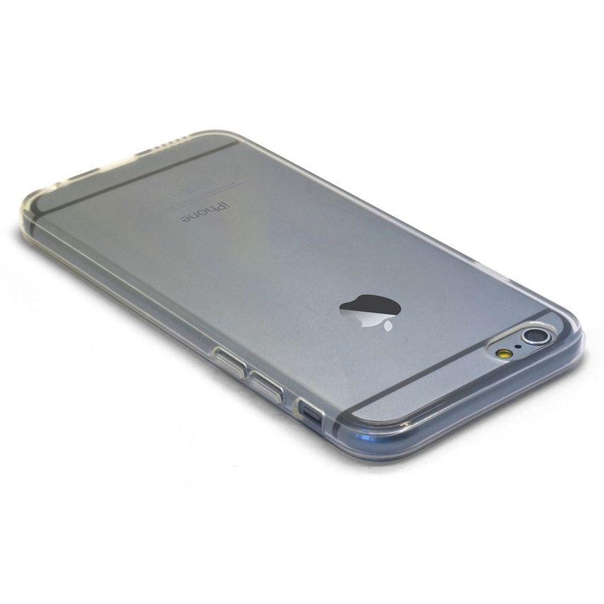 """Photo réelle de Coque Souple """"Crystal Clear"""" pour iPhone 6"""