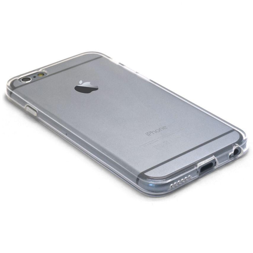 """Vue portée de Coque Souple """"Crystal Clear"""" pour iPhone 6"""