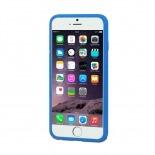 Visuel supplémentaire de Coque iPhone 6 Plus Muvit® MyFrame Bi-matière Bleu - Transparent