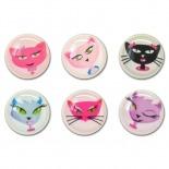 Zoom sur Home Sticker Autocollant bouton Home iPhone 3GS / 4 / 4S / 5 Design Cats