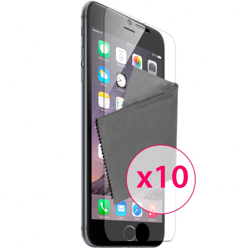 Zoom sur Films de protection iPhone 6 Plus (5,5 pouces) Clubcase ® Clear HD Lot de 10
