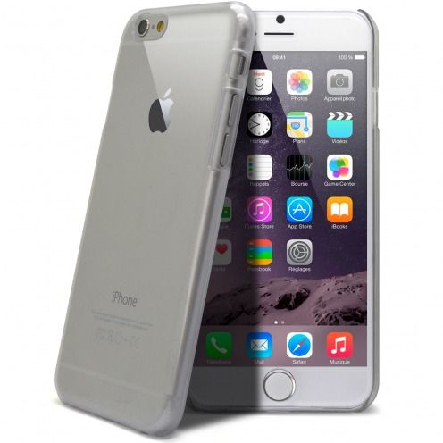 Coque Crystal iPhone 6 Plus Extra Fine Transparente