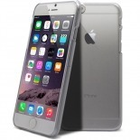 Vue complémentaire de Coque Crystal iPhone 6 Plus Extra Fine Transparente