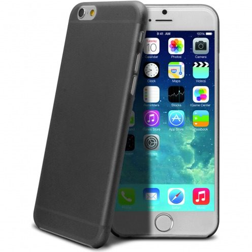 Coque Ultra Fine 0.3mm Frost iPhone 6 Plus Noire