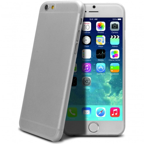 Coque Ultra Fine 0.3mm Frost iPhone 6 Plus Blanc