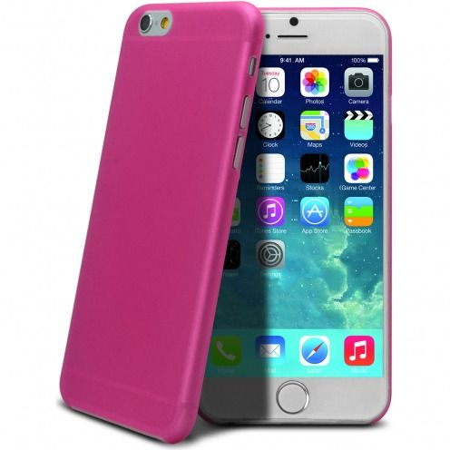 Coque Ultra Fine 0.3mm Frost iPhone 6 Plus Rose