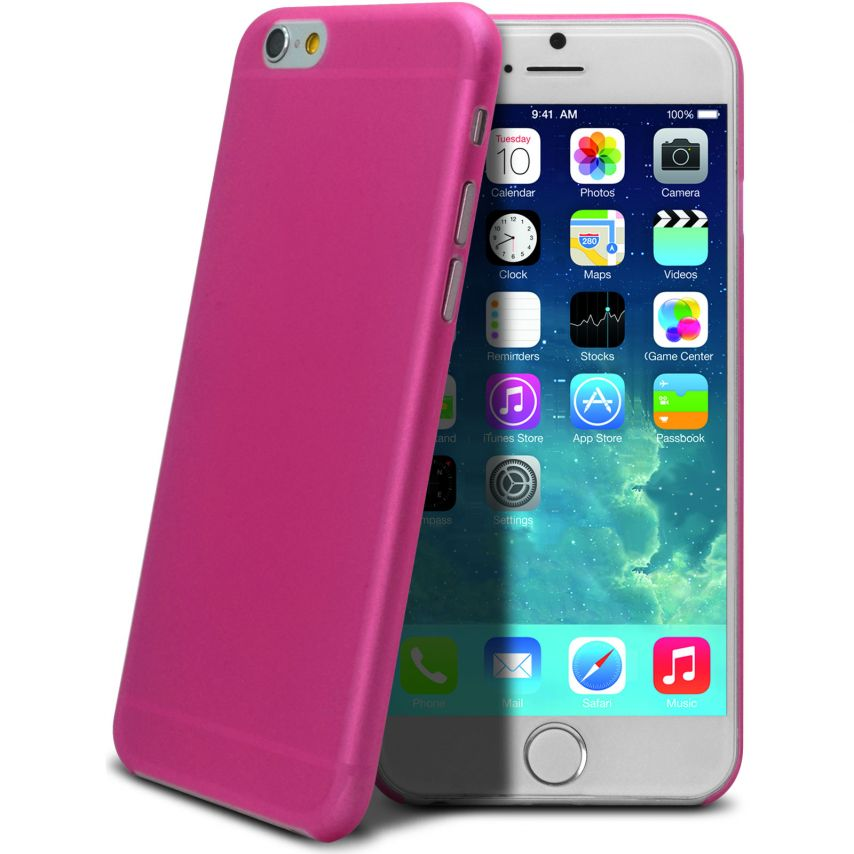 Visuel supplémentaire de Coque Ultra Fine 0.3mm Frost iPhone 6 Plus Rose