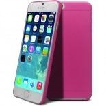 Vue complémentaire de Coque Ultra Fine 0.3mm Frost iPhone 6 Plus Rose
