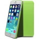 Vue complémentaire de Coque Ultra Fine 0.3mm Frost iPhone 6 Plus Verte