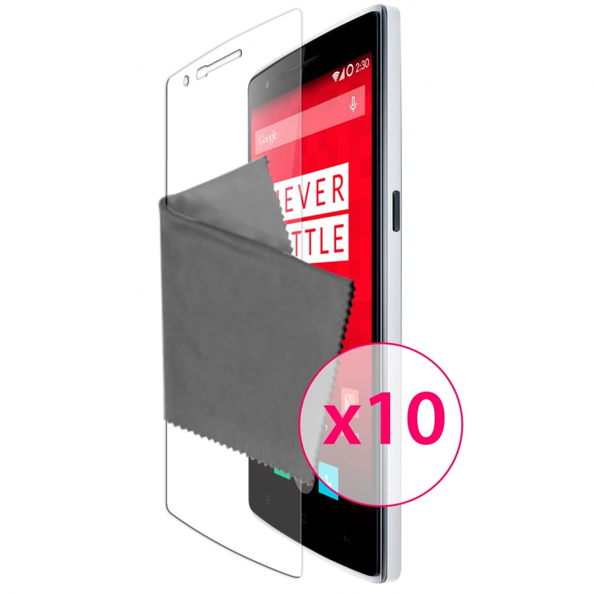 Zoom sur Films de protection One Plus One Clubcase ® Clear HD Lot de 10