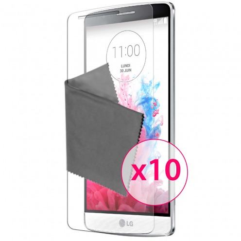 Zoom sur Films de protection LG G3S Clubcase ® Clear HD Lot de 10