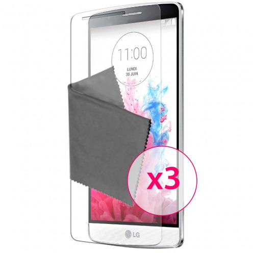 Zoom sur Films de protection LG G3S Clubcase ® Clear HD Lot de 3