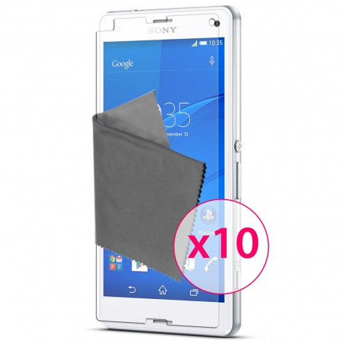 Films de protection Sony XPERIA Z3 Compact Clubcase ® HD Lot de 10