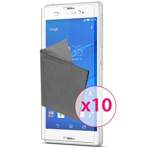 Films de protection Sony XPERIA Z3 Clubcase ® HD Lot de 10