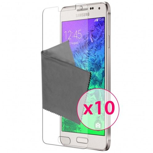 Zoom sur Films de protection Samsung Galaxy Alpha Clubcase ® HD Lot de 10