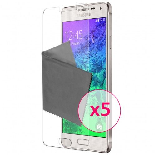 Films de protection Samsung Galaxy Alpha Clubcase ® HD Lot de 5