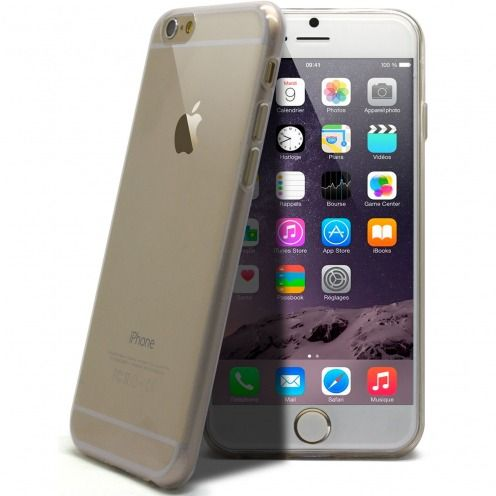 "Coque Ultra Fine 0.5mm Souple ""Crystal Clear"" pour iPhone 6 Plus"