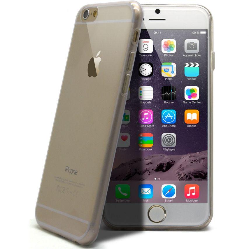 """Visuel supplémentaire de Coque Ultra Fine 0.5mm Souple """"Crystal Clear"""" pour iPhone 6 Plus"""