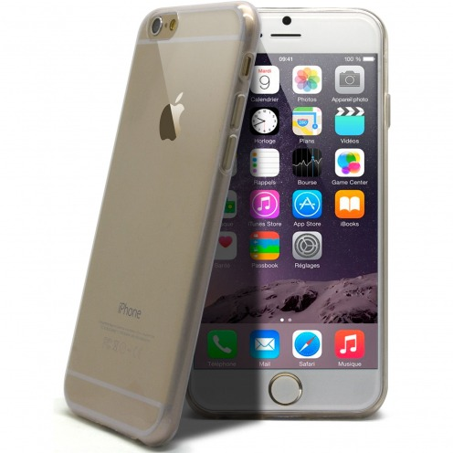 "Coque Ultra Fine 0.5mm Souple ""Crystal Clear"" pour iPhone 6"