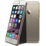 """Vue complémentaire de Coque Ultra Fine 0.5mm Souple """"Crystal Clear"""" pour iPhone 6"""