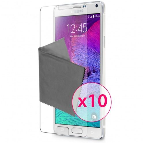 Zoom sur Films de protection Samsung Galaxy Note 4 Clubcase ® HD Lot de 10