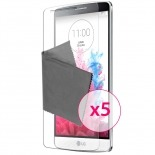 Zoom sur Films de protection LG G3S Clubcase ® Clear HD Lot de 5