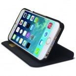 Vue portée de Smart Dash Folio One X-Doria Noire pour iPhone 6 Plus