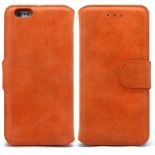 Vue portée de Smart Cover iPhone 6 Plus Peau de pêche Mandarine