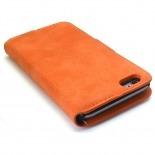 Visuel unique de Smart Cover iPhone 6 Plus Peau de pêche Mandarine