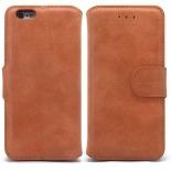Vue portée de Smart Cover iPhone 6 Plus Peau de pêche Noisette