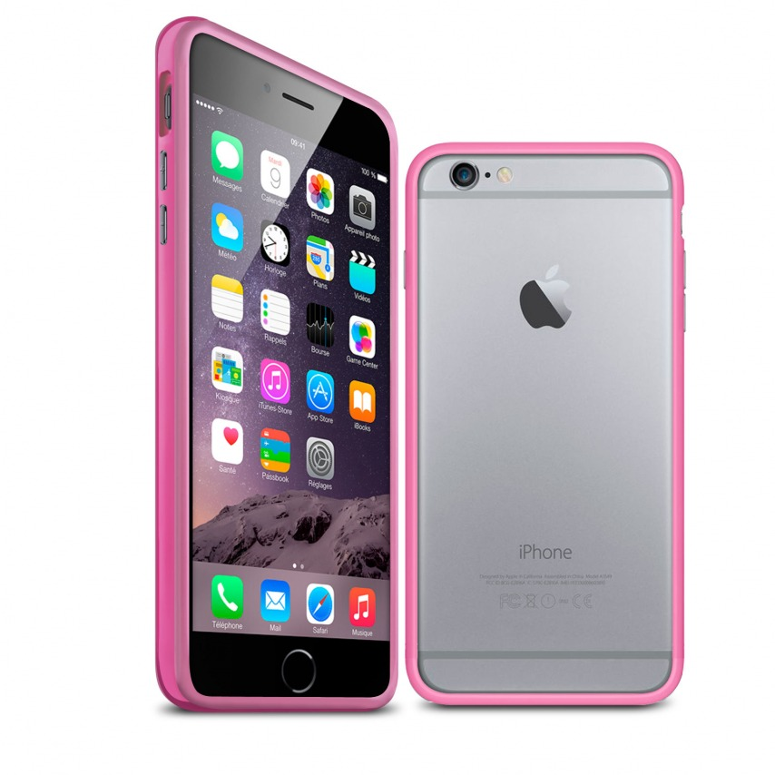 Visuel unique de Coque Bumper iPhone 6 HQ Rose