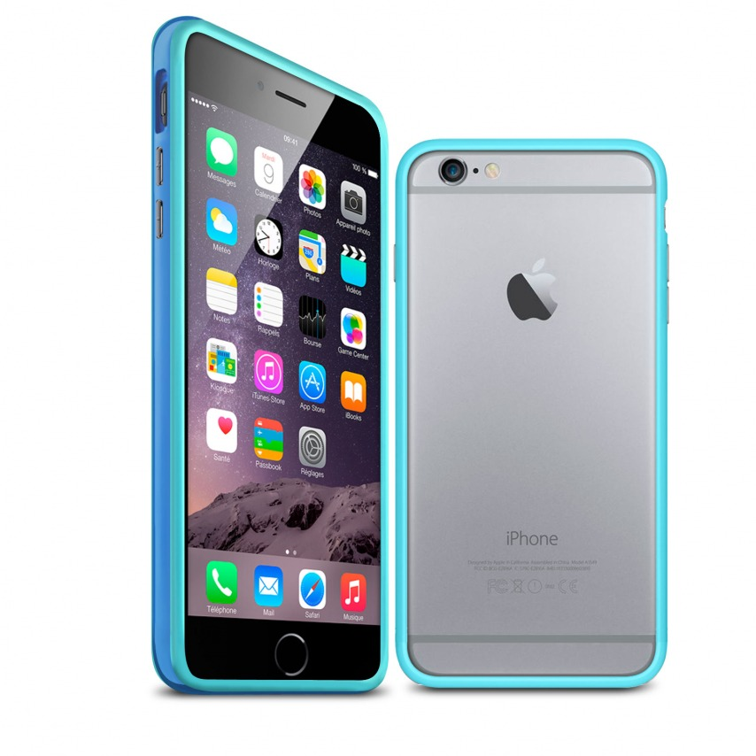 Visuel unique de Coque Bumper iPhone 6 HQ Bleue