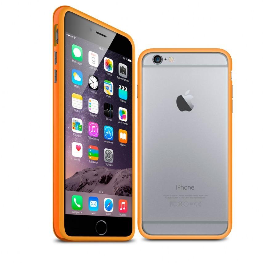 Visuel unique de Coque Bumper iPhone 6 HQ Orange
