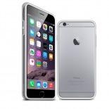 Visuel unique de Coque Bumper iPhone 6 Plus HQ Blanc / Transparent