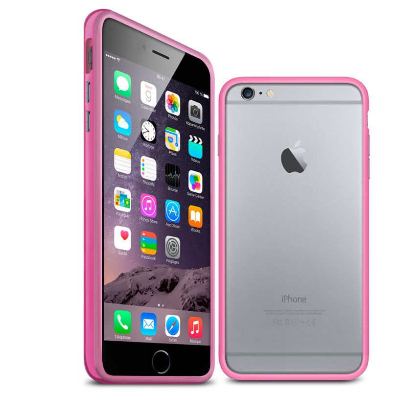 Visuel unique de Coque Bumper iPhone 6 Plus HQ Rose