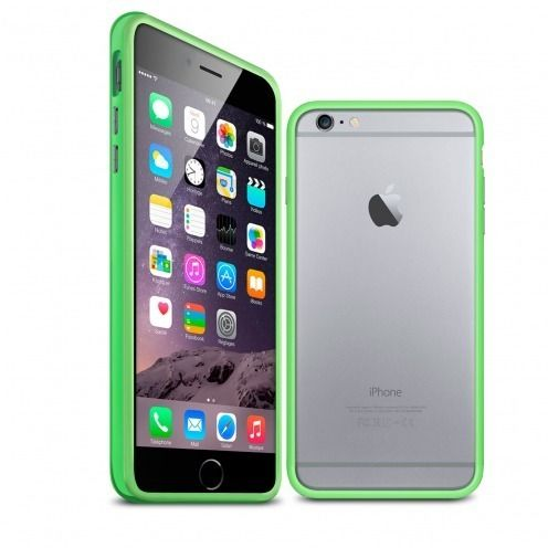 Visuel unique de Coque Bumper iPhone 6 Plus HQ Verte