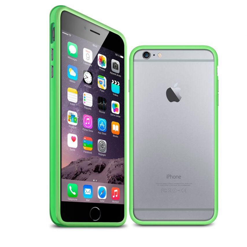 Visuel unique de Coque Bumper iPhone 6 Plus HQ Verte