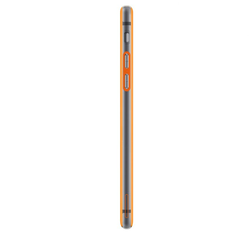 Visuel supplémentaire de Coque Bumper iPhone 6 Plus HQ Orange / Transparent