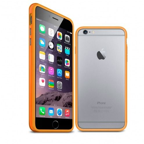 Visuel unique de Coque Bumper iPhone 6 Plus HQ Orange