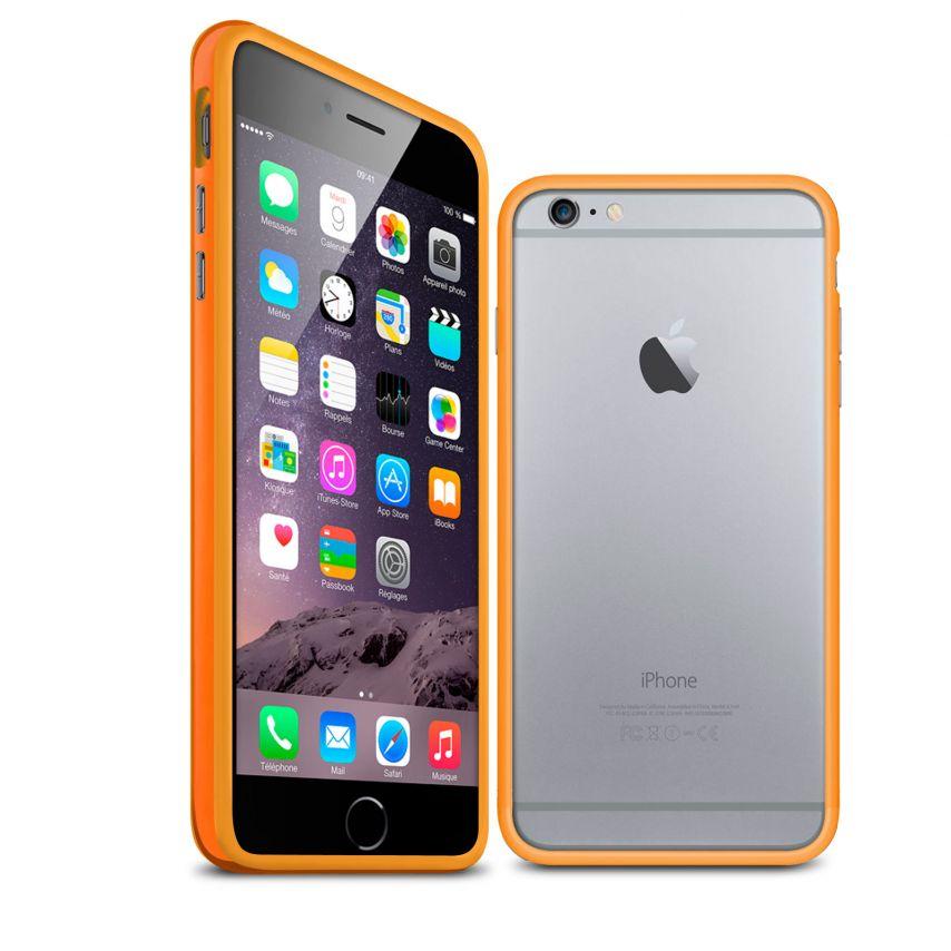Visuel unique de Coque Bumper iPhone 6 Plus HQ Orange